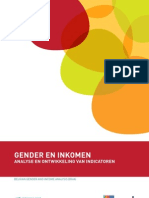 Het Instituut voor de Gelijkheid van vrouwen en mannen publiceerde een rapport over het project 'Belgian Gender and Income Analysis' (BGIA).