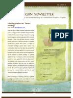 Origiin Newsletter Aug 2012