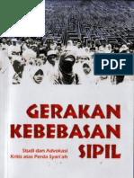 Gerakan kebebasan sipil; Studi dan Advokasi Kritis atas Perda Syari'ah
