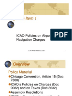 ICAO Policies on Airport & Air Navigation Charges