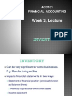 ACC F3 Inventory Lecture notes