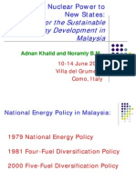 Khalid-Noramly - Development in Malaysia