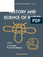 History and Science of Knots (Gnv64)