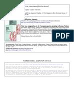 Fatty Acid Composition of Six Centaurea Species Growing