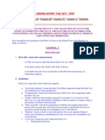 The Orissa Entry Tax Act