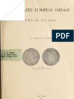 The dated European coinage prior to 1501 / by Albert R. Frey