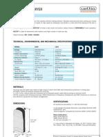 Hand Dryer Datasheet