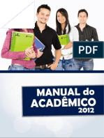 Manual do Acadêmico 2012