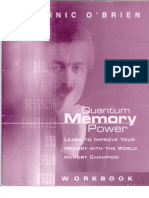 Dominic O'Brien - Quantum Memory Workbook