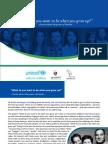 Romania Roma Role Models Project Brochure (English)