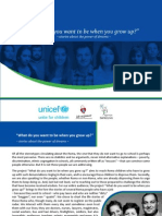 Romania Roma Role Models Project Brochure (English)