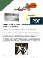 BRASILEIRÃO Vasco assume ponta; Verdão e Peixe se reabilitam