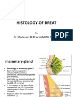 Lecture on Histology of Breast by Dr. Roomi