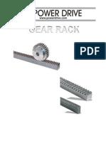 Gear Rack Catalog [Powerdrive.com]
