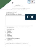 Evaluación diagnóstica perimetro y area