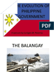 UPDATEDevolution of the Phil. Govt-presidents-constitution