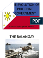 UPDATEDevolution of the Phil. Govt-presidents-constitution