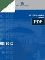 Bollettino Bce Agosto 2012