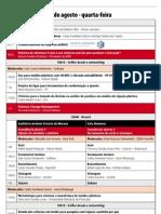 ABM Moldes 2012 programação