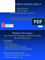 Safety Aspects of Magnetic Resonance Imaging455