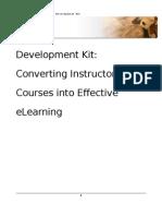 Development KiT Classroom to Online