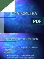 HEMATOMETRA