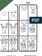 How to Draw 101 Cartoon Characters-Viny