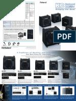 Roland KC-Series Catalog Amps
