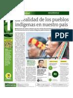 La realidad de los pueblos indígenas en nuestro país