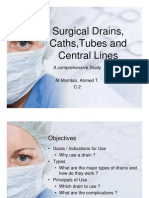 Surgical Drains Catheters and Tubes(M)