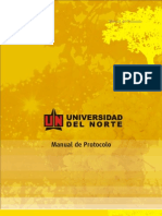 MANUAL de Protocolo