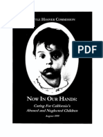 Little Hoover Comm. Now in Our Hands-Caring for California's Abused & Neglected Children