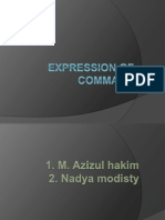 Expression of Command