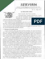 Bulletin Serviam 2012 mai