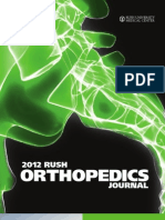Rush Orthopedics Journal 2012