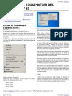 Guida al Computer - Lezione 63 - Il Sistema Operativo