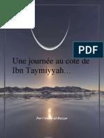 Une journée au coté de Ibn Tayymyah