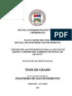 Mod.check List Maquinaria Minera