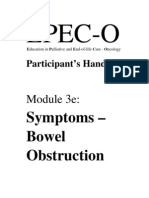 EPEC-O M03e Bowel Obstruction PH