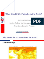 What Should U.S. Policy Be in the Arctic?