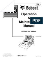 Manual de Operacion Bobcat