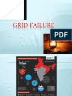 GRID Failure India 2012