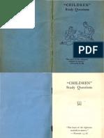 1942 CHILDREN Study Questions