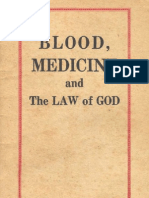 1961 XX Blood Medicine and the Law of God