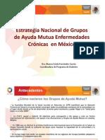 Estrategia de Grupos de Ayuda Mutua Enfermedades Cronicas en Mexico