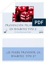 Prevencion Primaria en Diabetes Tipo 2