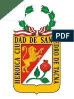 Escudo de Tacna Para Imprimir y Pintar