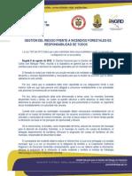390 Responsabilidad de Todos Frente a Incendios Forestales