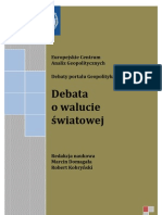 Debata o Walucie Swiatowej