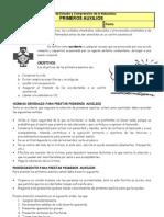 Guia de Primeros Auxilios y Botiquin.